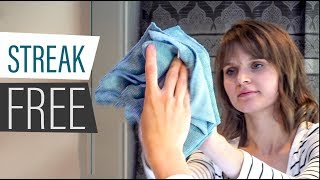 How to Clean a Mirror - Cleaning Mirrors without Streaks
