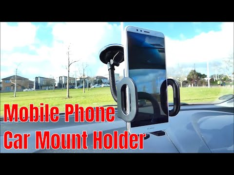 Universal Mobile Phone Car Mount Holder | Unbox | Install |Review