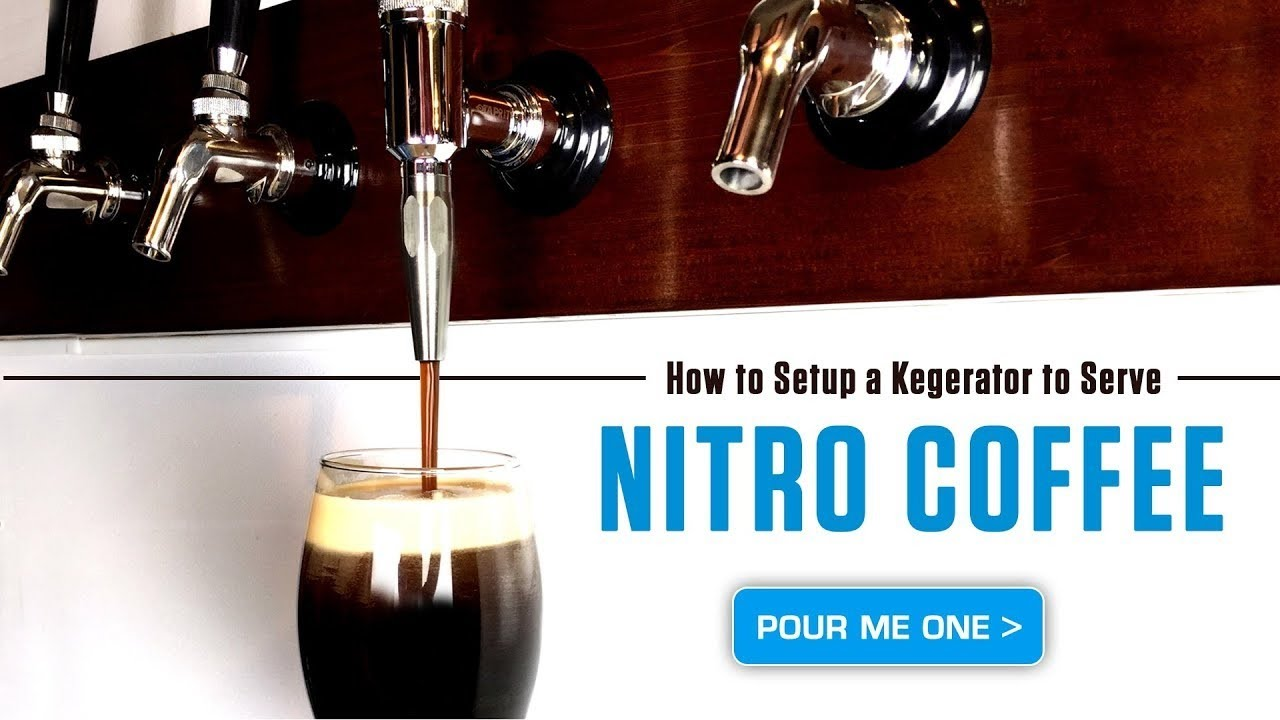 How to Setup a Kegerator to Serve Nitro Coffee - YouTube
