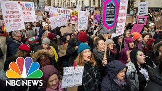 Womens March Rally Takes Place In Las Vegas  NBC News