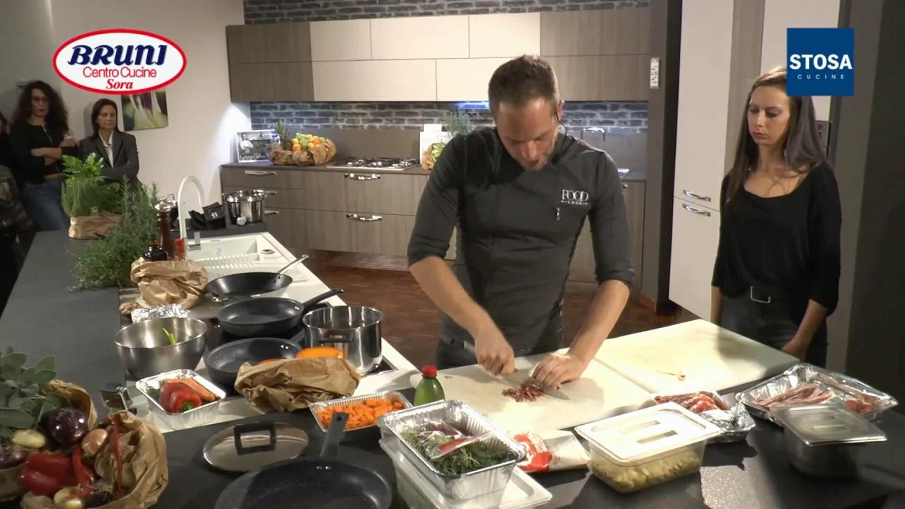 Show cooking di simone rugiati con stosa cucine da bruni centro cucine sora fr www brunicucine - Cucine bruni sora ...