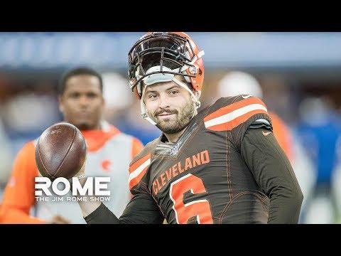 Baker Mayfield RIPS NY Giants For Drafting Daniel Jones   The Jim Rome Show