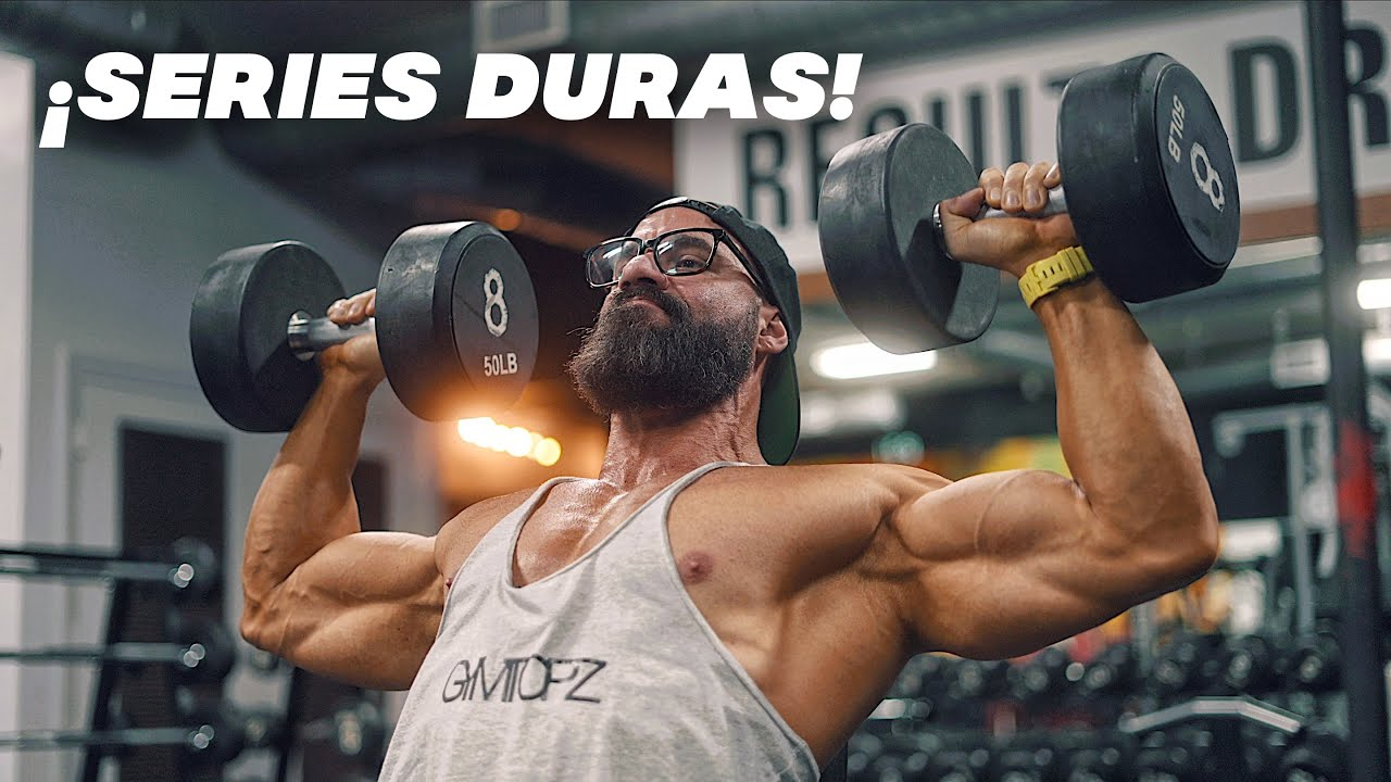 RUTINA DE HOMBROS CLUSTER SETS ¡De las majores! (Jueves) gym topz