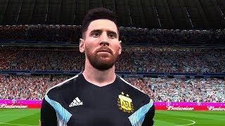 Argentina vs Nigeria   FIFA World Cup 2018 Gameplay