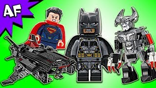 Lego DC Justice League Flying Fox: Batman BATMOBILE AIRLIFT Attack 76087 Speed Build