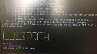 Майнинг Эфира Картами 1060 - 3GB на Hive OS