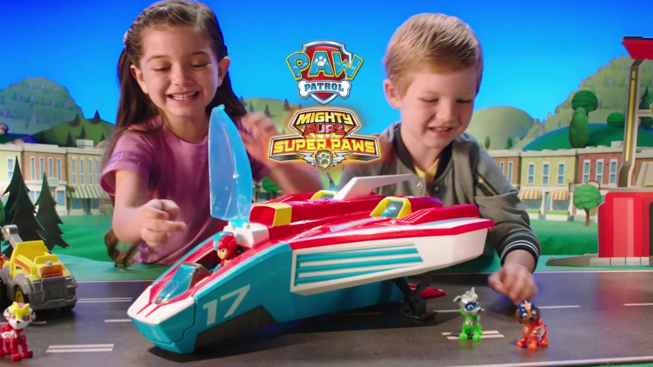 PAW Patrol | Mighty Pups | Super Paws Mighty Jet | 0:15 Commercial