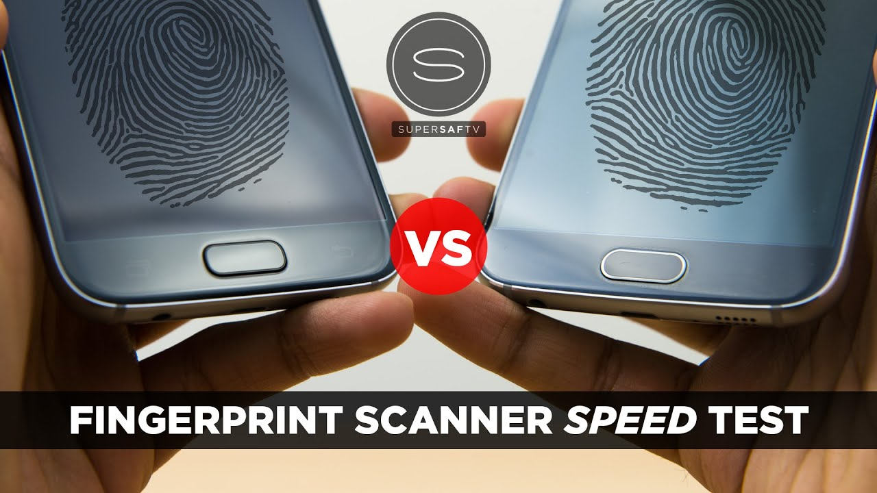 Samsung Galaxy S7 vs Samsung Galaxy S6 - Fingerprint