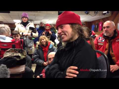 Alaska Dog Musher Aliy Zirkle Explains Why She Stopped In Safety During Iditarod 2014