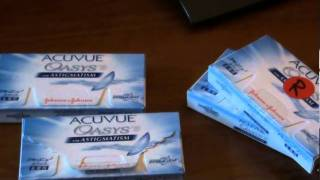 Acuvue Oasys-Asitgmatism, Presbyopia, Nearsighted and farsighted(Hey YouTube this video talks about the Acuvue Oasys Brand contact lenses. And by the way the title Acuvue Oasys-Astigmatism, Presbyopia, Nearsighted and ..., 2011-09-24T23:19:28.000Z)