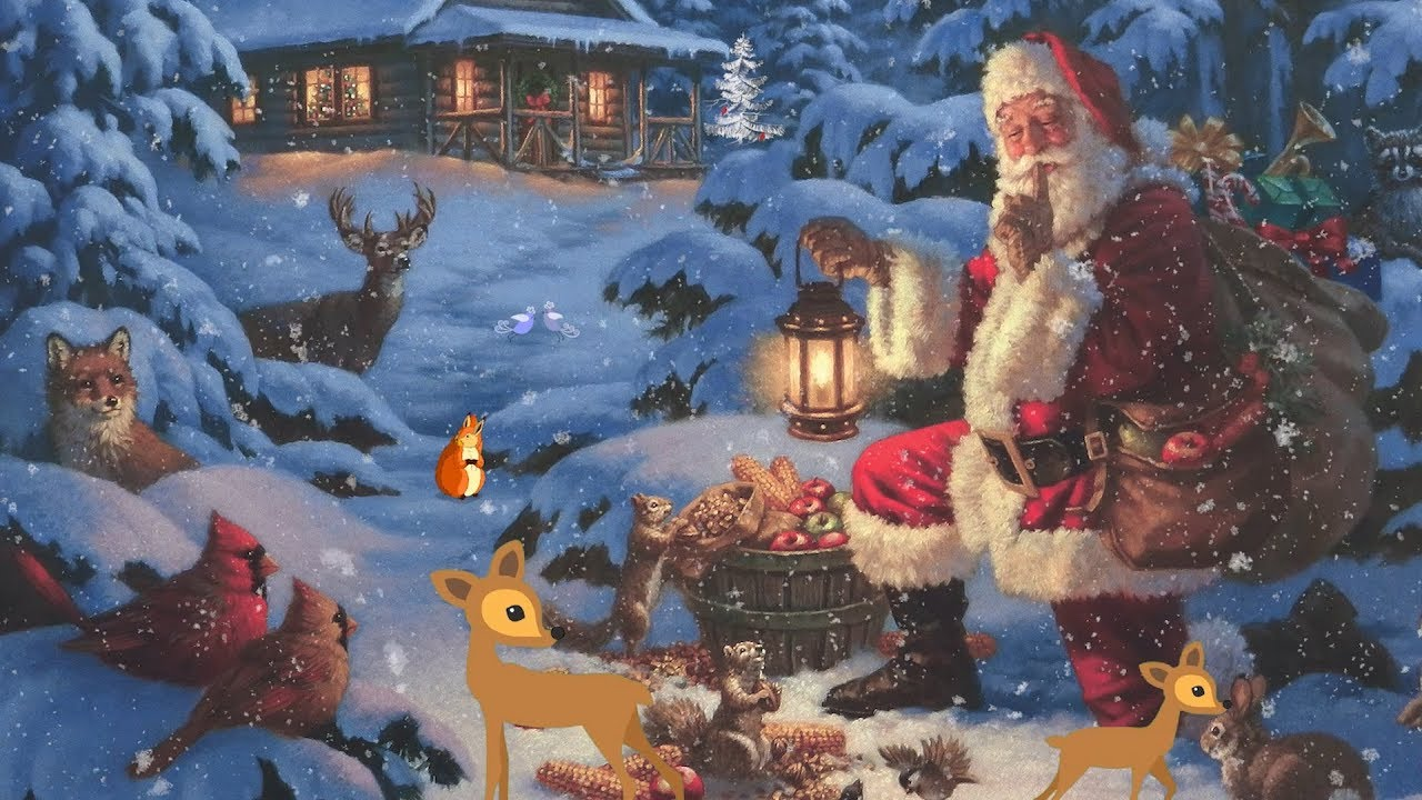 Christmas Forest.Christmas Music Peaceful Music Christmas Forest By Tim Janis And Artwork By Corbert Gauthier