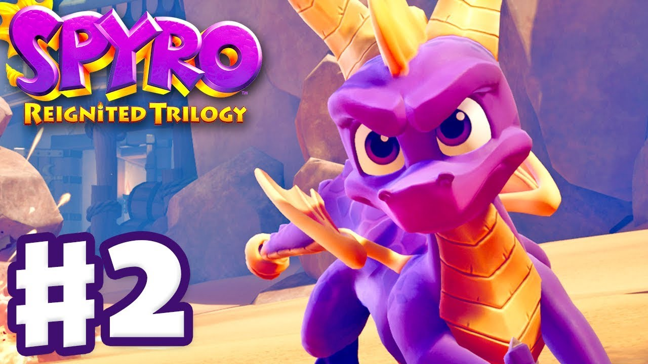 Download Spyro Reignited Trilogy - Spyro The Dragon - Gameplay Walkthrough Part 2 - Peace Keepers (120%)
