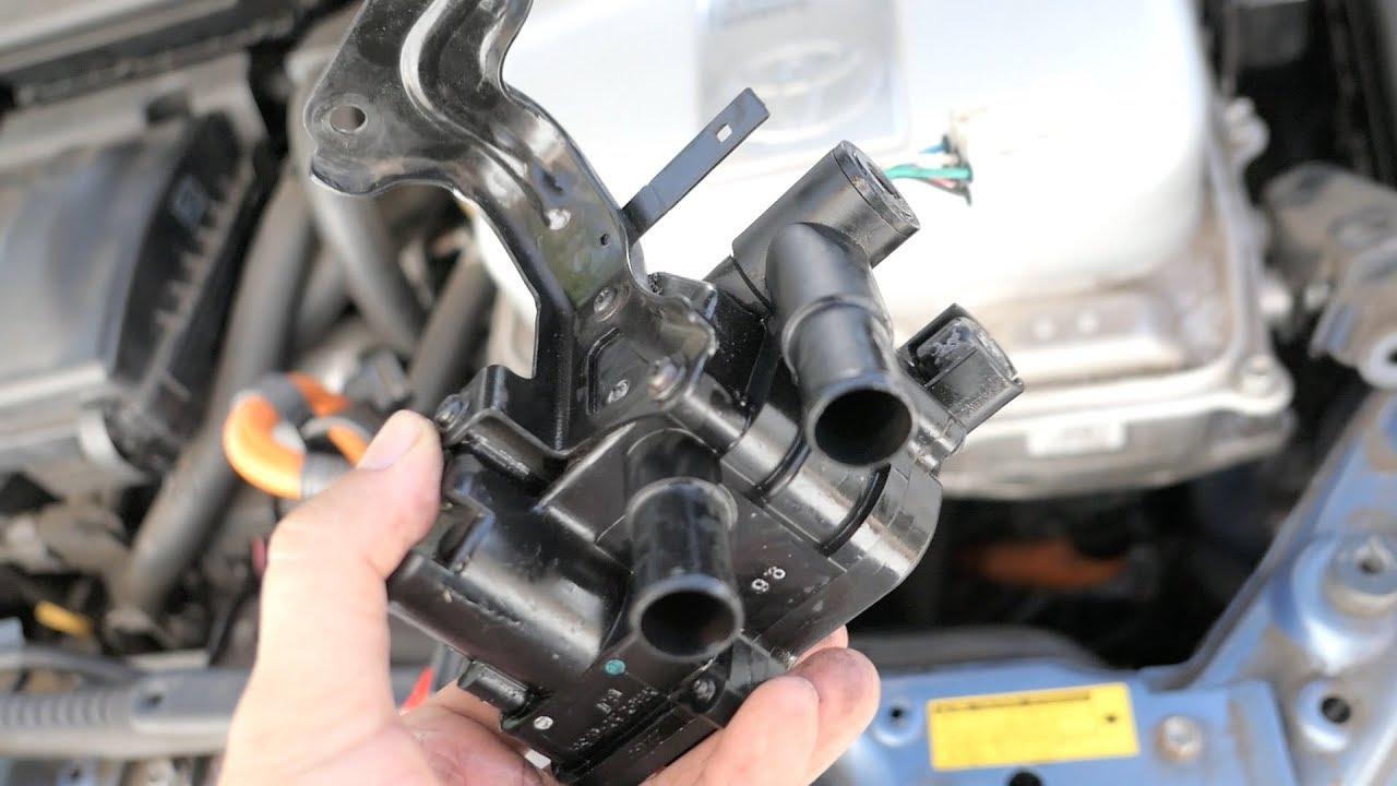 hight resolution of gen 2 prius code p1121 coolant control valve