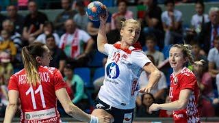 Handball Belarus   Norway. 2019 Women's World Championship Play Off Phase 2