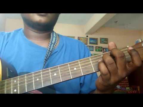 Ummai Nambi Vanthen - John Jebaraj ( Guitar cover) lesson