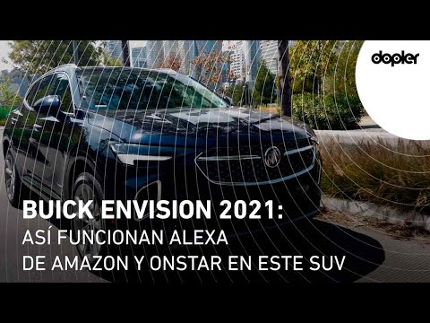 Buick Envision 2021: así funcionan Alexa de Amazon y OnStar en este SUV