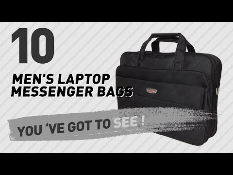 Laptop Messenger Bags For Men // The Most Popular 2017