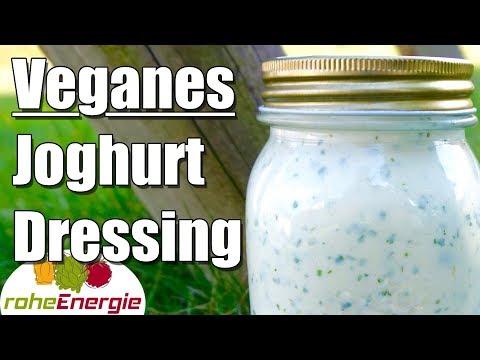 Veganes Joghurt Dressing ✅ Rezept