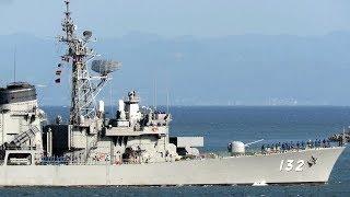 護衛艦「あさゆき」観艦式FLEET WEEK開催で横須賀入航 2019年10月4日