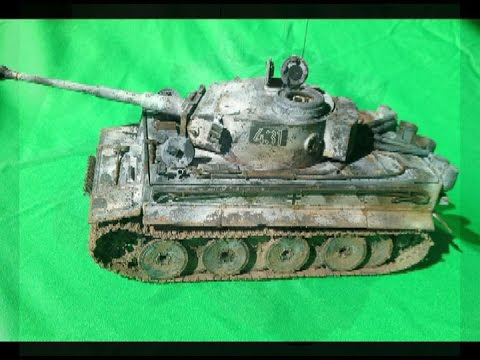 "Academy 1/35 Tiger 1 Early - Wittmann's ""First"" Tiger 431 Russia - Part 1"