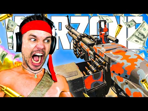 Le Plus Gros ''PAY TO WIN'' sur WARZONE en MODE RAMBO !! (Call of Duty Saison 3)