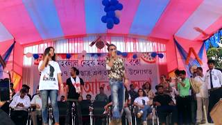 Din jole Rati jole || Zubeen Garg & Deeplina At  JN College BOKO || Mission China Promotions||