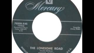 Jimmy Ricks Ravens   The Lonesome Road   1954