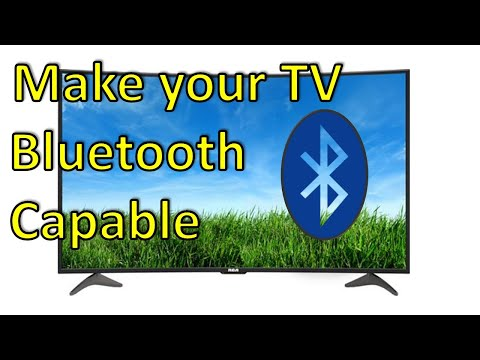 how-do-i-make-my-tv-bluetooth-capable?
