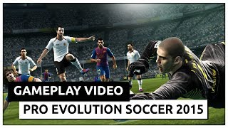 Pro Evolution Soccer 2015 (2014) Gameplay [HD]