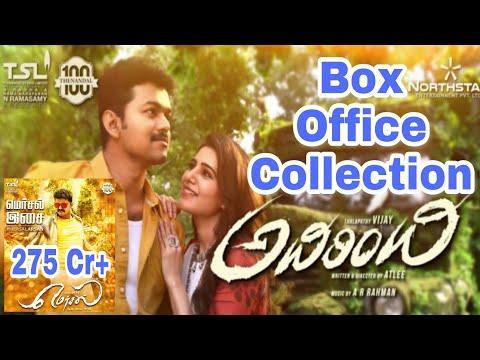 Adirindi(Mersal) Worldwide Box Office Collection -13th Nov 2017 (Thalapathy Vijay)