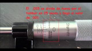 micrometro de pulgadas