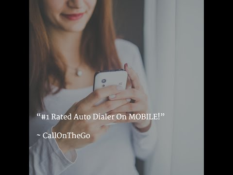 Best Auto Dialer App Review For Sales Calls, Prospecting, Leads, Prospects, And Customers!