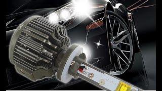 LED лампы в противотуманные фары KIA Sportage 3