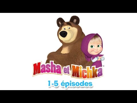 Masha et Michka - Collection 3 (1-5 épisodes) 30 minutes de dessins animés