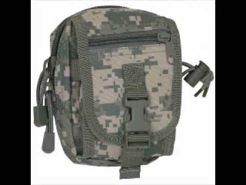 Military Bags and Accessories - YouTube