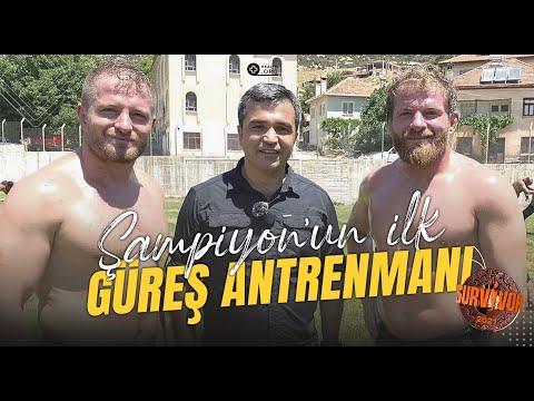Şampiyon İsmail Balaban'ın Survivor'dan Sonra İlk Yağlı Güreş Antrenmanı !