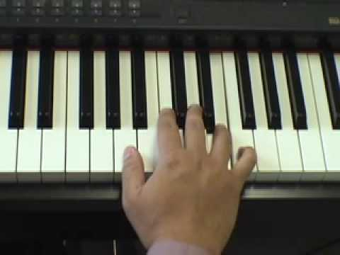 How to Play Minor Chords and Last Christmas on piano - YouTube