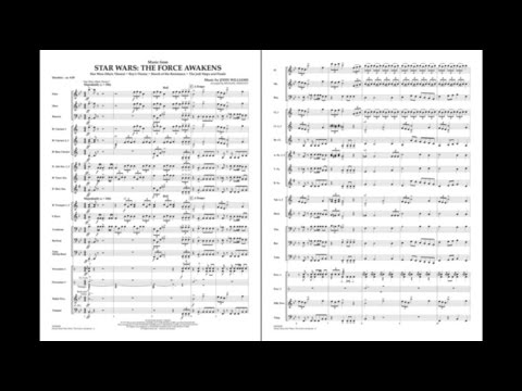 Music from Star Wars: The Force Awakens by John Williams/arr. Sweeney