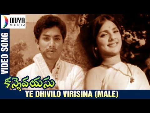 Kanne Vayasu Telugu Movie Songs | Ye Dhivilo Video Song (Male) | Roja Ramani | Lakshmi Kanth
