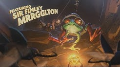 The Story of Sir Finley Mrrgglton [Hearthstone Lore]