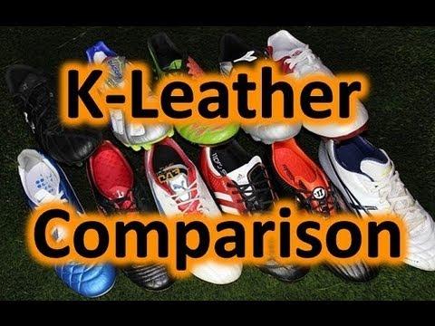 2f0e74c77a3 Modern Kangaroo Leather Soccer Shoes - Comparison - YouTube