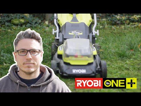 Je teste les outils de jardin RYOBI : Tondeuse, coupe bordure et taille haie !
