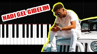 Ali471 - Hadi Gel Gezelim - Piano Tutorial by VN Resimi