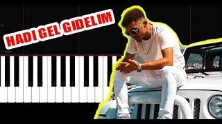 Ali471 - Hadi Gel Gezelim - Piano Tutorial by VN