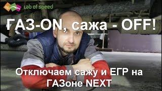 ГАЗ-ON, сажа-OFF! Отключаем EGR и сажу на ГАЗоне NEXT