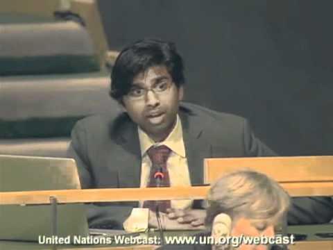 Sandeep Kishore - UN Civil Society Meeting on NCDs