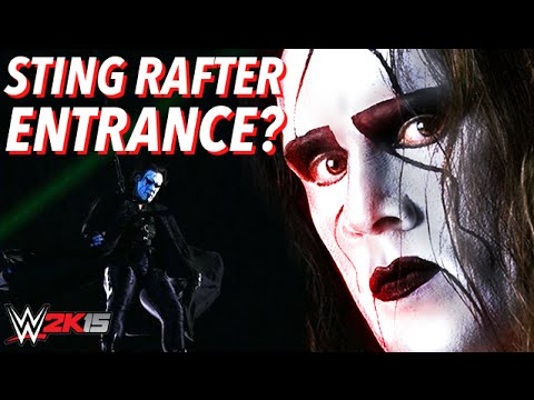 WWE 2K15 Sting Rafter Entrance? (Will we get Stings ...