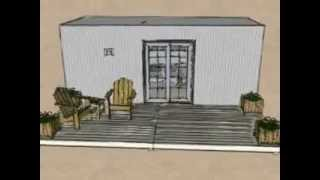 8 X 20 Shipping Container Home Design