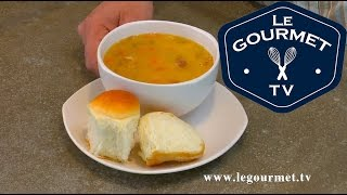 French Canadian Yellow Split Pea Soup - Legourmettv Recipe