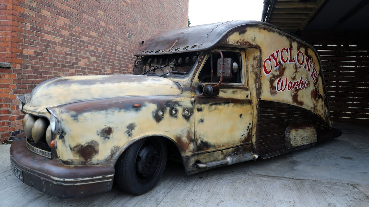 Taxi Transformed Into Rat-Rod In Seven Days | RIDICULOUS RIDES - YouTube